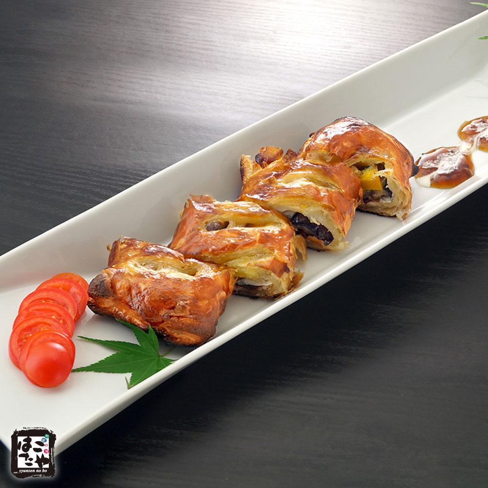 秋刀魚と秋野菜のパイ包み